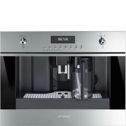 Brand: SMEG, Model: CMSU6451X, Style: 24 Inch Fully Automatic Coffee Machine
