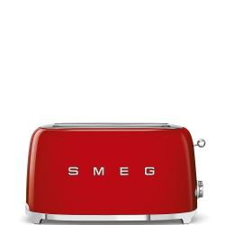 Brand: SMEG, Model: TSF02, Color: Red