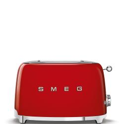 Brand: SMEG, Model: TSF01, Color: Red