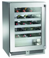 Brand: PERLICK, Model: HP24WS34L, Style: Stainless Steel-Glass, Left Hinge Door Swing