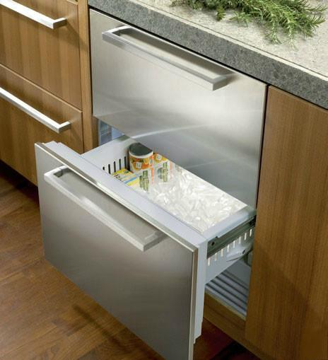 Id24fx Sub Zero Id24fx Undercounter Freezers