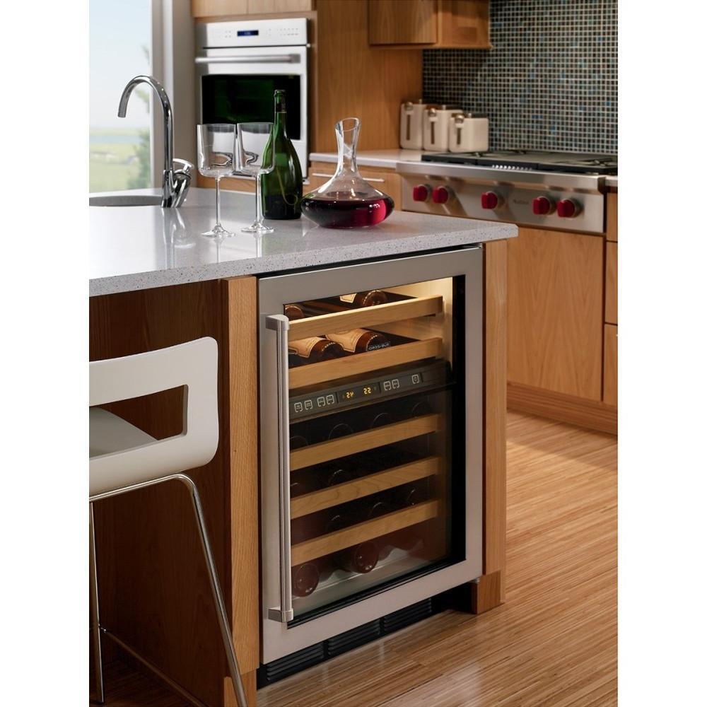 424gorh sub zero 424gorh compact wine cooler. Black Bedroom Furniture Sets. Home Design Ideas