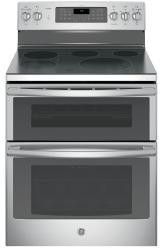 Brand: GE, Model: PB980SJSS, Style: 30 Inch Freestanding Double Oven Electric Range