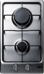 Brand: SUMMIT, Model: GC22SS, Style: 12 Inch Gas Cooktop