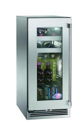 Brand: PERLICK, Model: HP15BS33L, Style: Stainless Steel-Glass, Left Hinge Door Swing