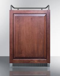 Brand: SUMMIT, Model: SBC677BITWIN, Color: Panel Ready Door, No Tap