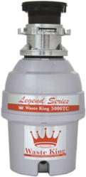 Brand: WASTE KING, Model: SS5000TC, Style: 3/4 HP Batchfeed Disposer