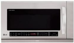 Brand: LG Studio, Model: LSMH208ST, Style: 2.0 cu. ft. Large Capacity Over-The-Range Microwave