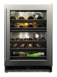 Brand: Kalamazoo, Model: KHP24DO3L, Style: Glass Door Wine Reserve - Right Hand