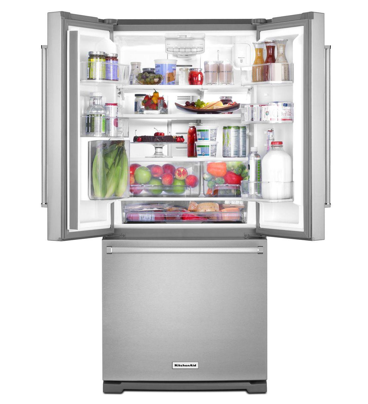 Krff300e Kitchenaid Krff300e Bottom Freezer Refrigerators