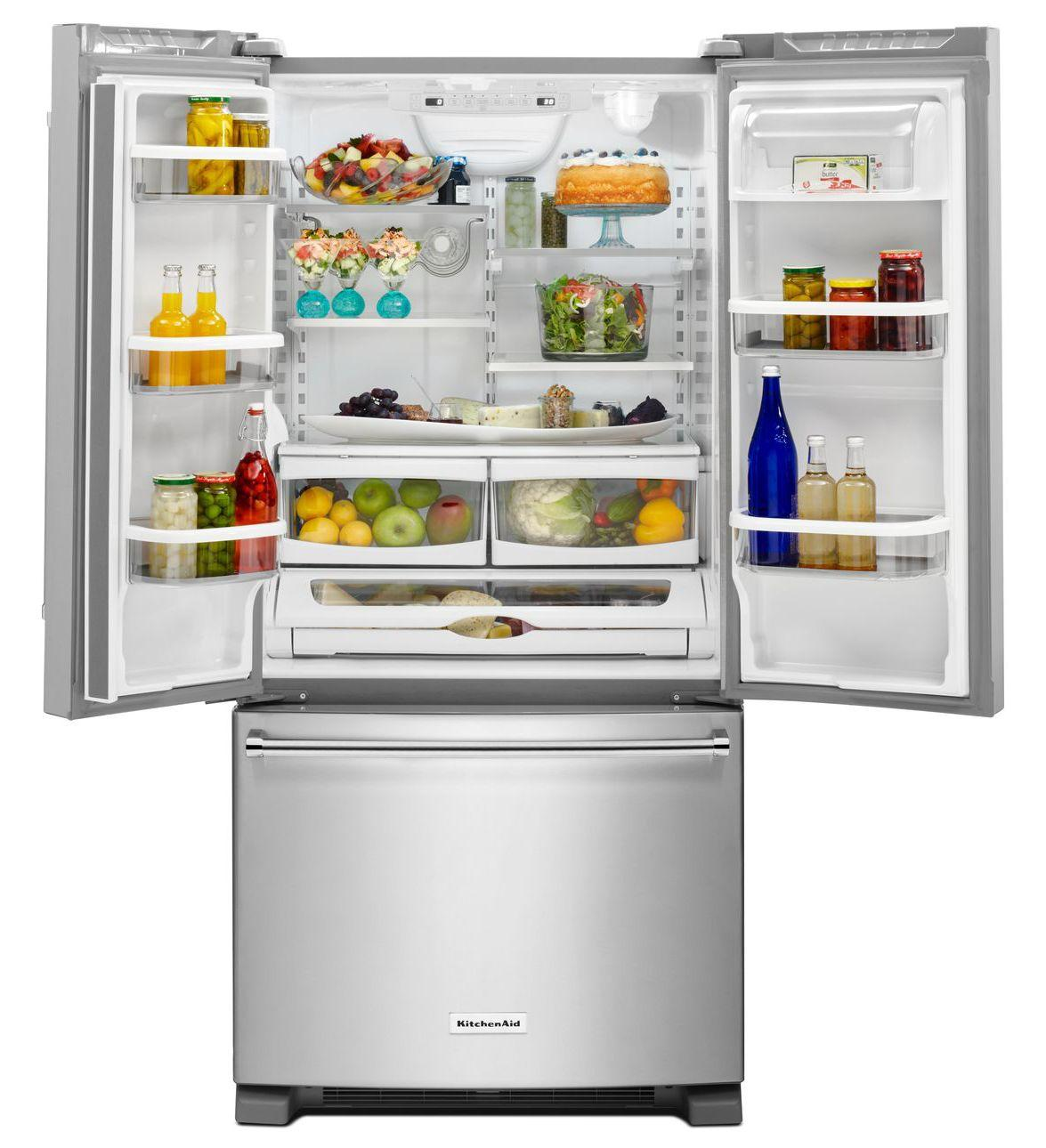 Krff302e Kitchenaid Krff302e Bottom Freezer Refrigerators