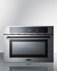 Brand: SUMMIT, Model: CMV24, Style: 24 Inch Built-In Speed Oven