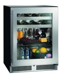 Brand: PERLICK, Model: HA24BB3X, Style: Stainless Steel-Glass, Left-Hand Swing Door