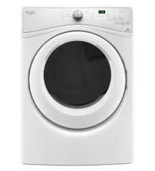 Brand: Whirlpool, Model: WED7590FW, Style: 7.4 cu-ft. Electric Dryer