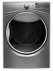 Brand: Whirlpool, Model: WED92HEF, Color: Chrome Shadow