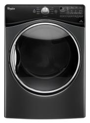 Brand: Whirlpool, Model: WED92HEFC, Color: Black Diamond