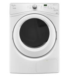 Brand: Whirlpool, Model: WED7990FW, Style: 7.4 cu. ft. Electric Dryer