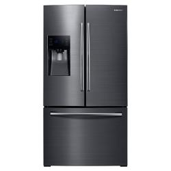 Brand: Samsung, Model: RF263TEAESR, Color: Black Stainless Steel