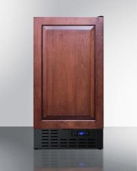Brand: SUMMIT, Model: FF1843BCSS, Color: Custom Panel Ready Door