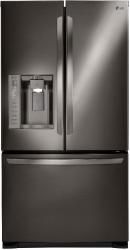 Brand: LG, Model: LFX25973ST, Color: Black Stainless Steel