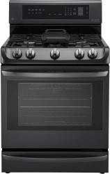 Brand: LG, Model: LRG4115ST, Color: Black Stainless Steel