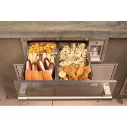 Brand: Alfresco, Model: AXEWD30, Style: 30-Inch Electric Warming Drawer