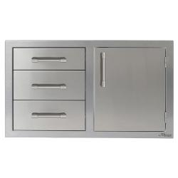 Brand: Alfresco, Model: , Style: Left Hinge