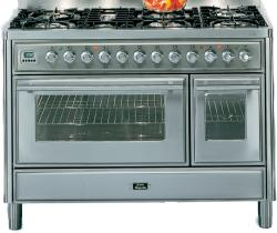 Brand: Ilve, Model: UMT120FDMPI, Color: Stainless Steel
