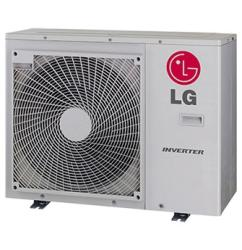 Brand: LG, Model: LMU18CHV, Style: 18,000 BTU Class Multi-Zone Ductless Split Outdoor Air Conditioner