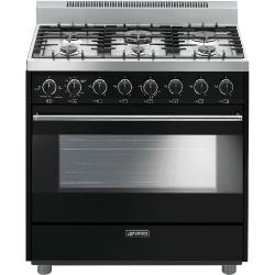 Brand: SMEG, Model: C36GGNU, Color: Black