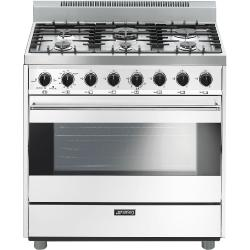 Brand: SMEG, Model: C36GGNU, Color: White