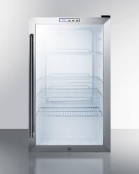 Brand: SUMMIT, Model: SCR486LCSS, Color: Stainless Steel Cabinet, Built-In Installation