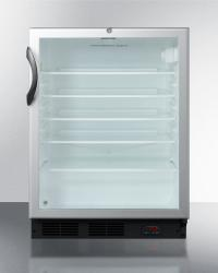 Brand: SUMMIT, Model: SCR600BLBIPUBADA, Style: Unique selection of European Pub Cellars offer a smart solution to storing or aging craft beer at the proper temperature.