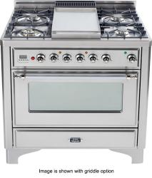 Brand: Ilve, Model: UM906DMPBLX, Color: Stainless Steel