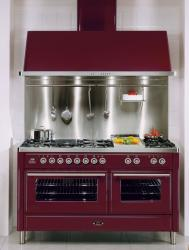 Brand: Ilve, Model: UMT150SDMPB, Color: Burgundy