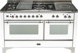 Brand: Ilve, Model: UM150FSDMPM, Color: True White with Chrome Trim