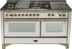 Brand: Ilve, Model: UM150FSDMPM, Color: Stainless Steel with Oiled Bronze Trim