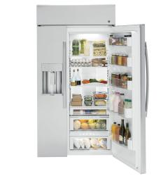 Brand: General Electric, Model: PSB4XYSKSS, Style: 42 Inch Side-By-Side Refrigerator