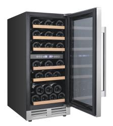 Brand: Avanti, Model: WCF282E3SD, Style: 15 Inch Designer Series Wine Chiller