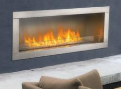 Brand: Napoleon, Model: GSS48, Style: 55,000 BTUs Linear Outdoor Fireplace
