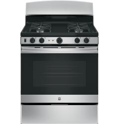 Brand: GE, Model: JGB450DEKWW, Color: Stainless Steel