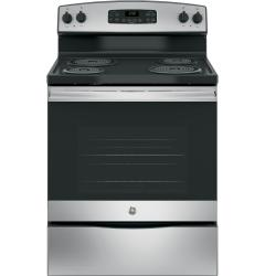 Brand: GE, Model: JB250RKSS, Color: Stainless Steel