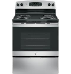 Brand: GE, Model: JB255RKSS, Color: Stainless Steel