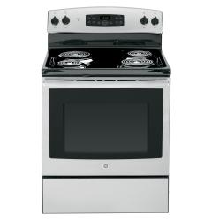 Brand: GE, Model: JB255, Color: Stainless Steel