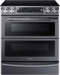 Brand: Samsung, Model: NE58K9850WS, Color: Black Stainless Steel