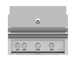 Brand: Hestan, Model: GMBR36LP, Style: Built-In Liquid Propane Grill