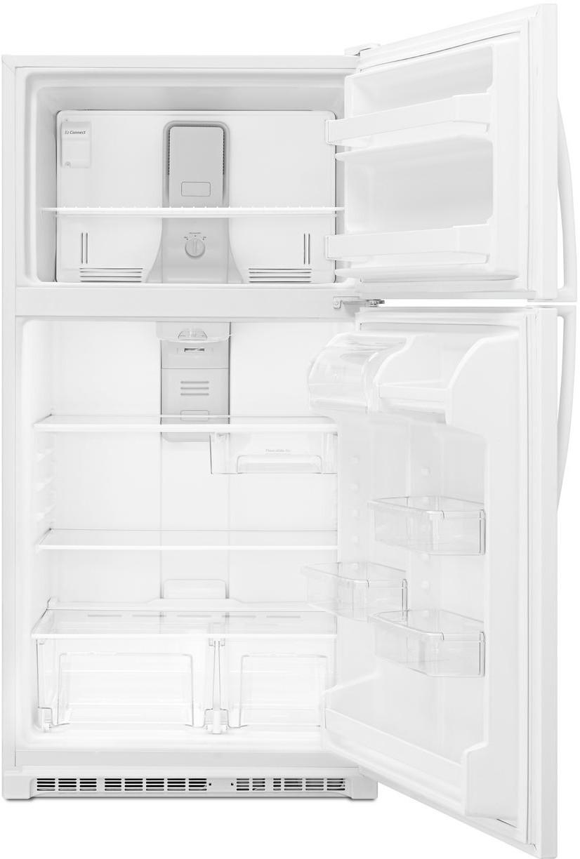 Whirlpool 33 Inch Top Freezer Refrigerator With Frameless
