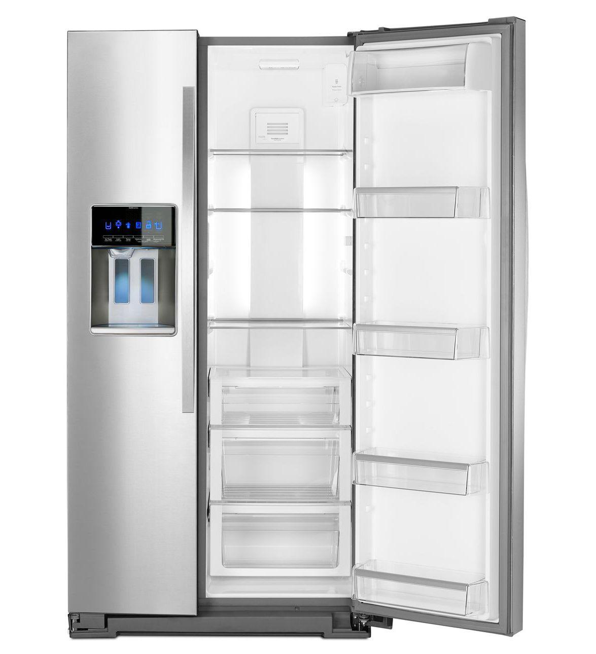Wrs975sidm Whirlpool Wrs975sidm Side By Side Refrigerators