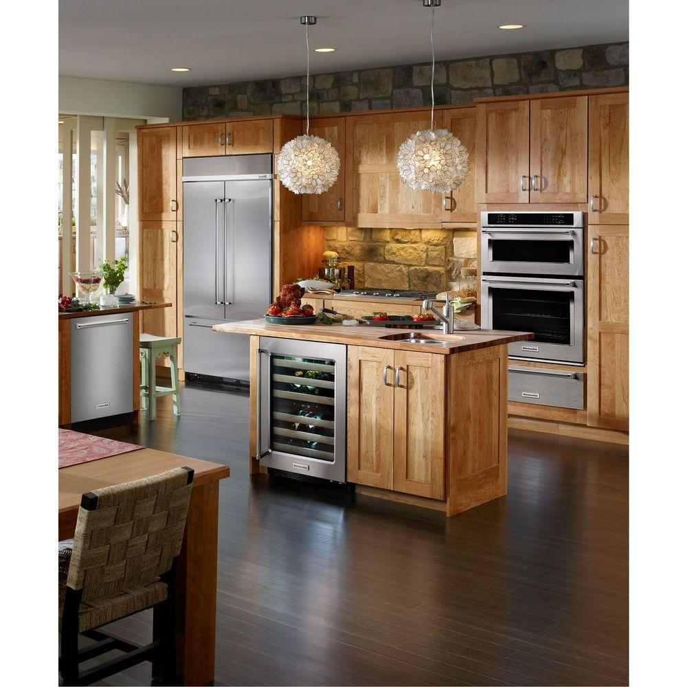 Kitchenaid 43 24 2 Cu Ft Built In French Door: Compact Beverage Center
