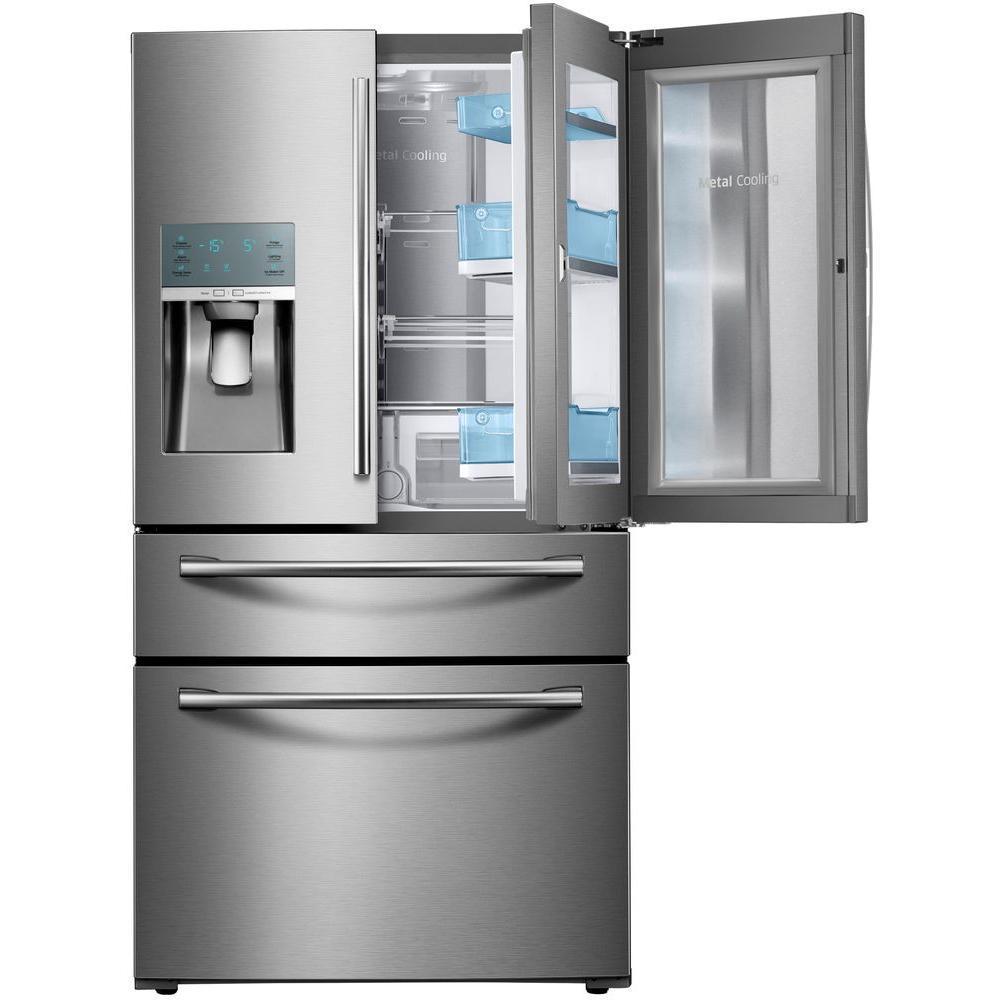 Rf22kredbsg Samsung Rf22kredbsg French Door Refrigerators